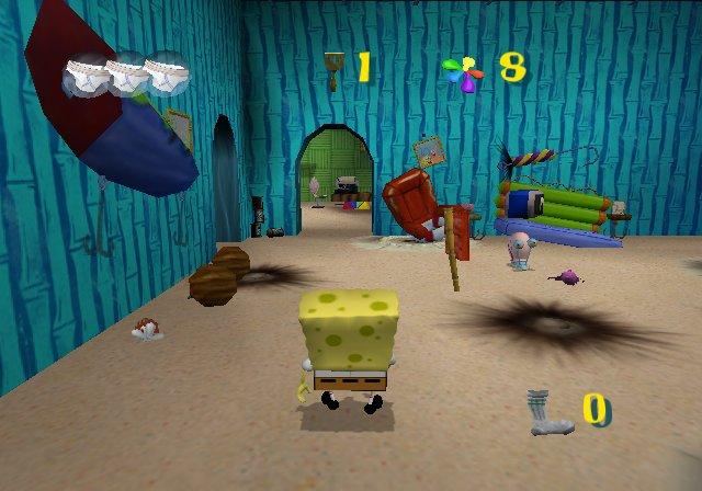 Spongebob battle for bikini bottom playstation will know
